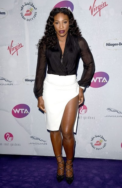 Super-S*xy! Everyone is Talking About this Daring Skirt Serena Williams Wore to a Party (Photos)