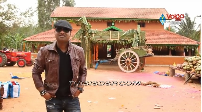 Devi Sri Prasad at Ninnu Choodagane song making from Attharintiki Daredi