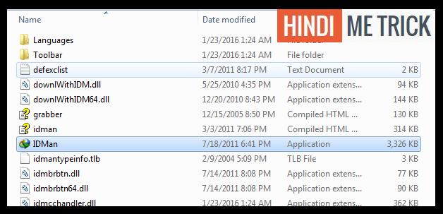 IDM Program File
