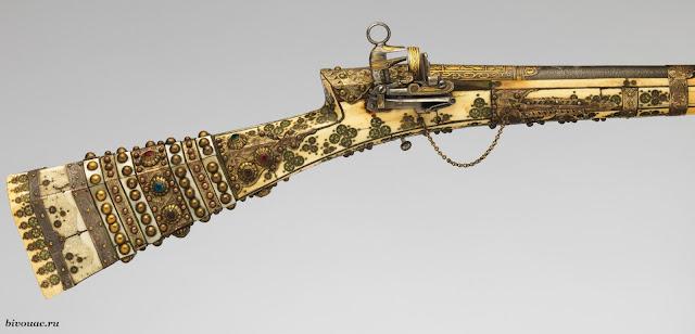 Винтовка, Кавказское оружие, Кремнёвое оружие, Кремневое ружье, Огнестрельное оружие, Оружие, Оружие Кавказа,