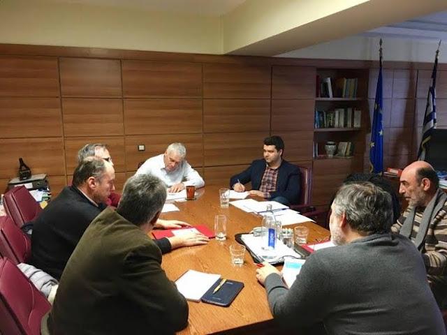 Συνάντηση του Μάριου Κάτση και εκπροσώπων από το χώρο της υδατοκαλλιέργειας, με τον Αναπληρωτή Υπουργό Αγροτικής Ανάπτυξης Γ. Τσιρώνη
