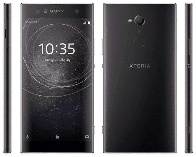 Sony Xperia XA2, XA2 Ultra, and L2 Renders Leaked; Thick Bezels Revealed