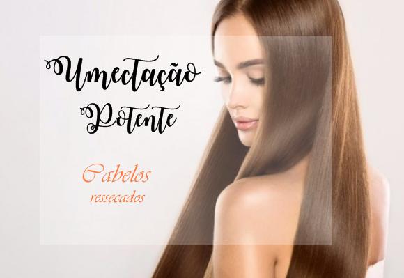 Umectação potente para cabelos ressecados