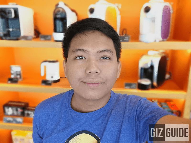 Very impressive selfie on portrait mode!