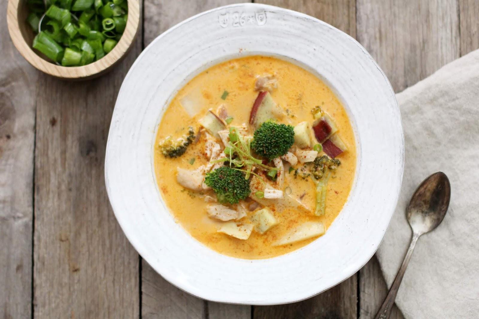 Spicy Thai Coconut Chicken Soup, Thai Chicken Coconut Soup, Thai Chicken Soup With Coconut Milk, Thai Coconut Chicken Soup, Thai Coconut Chicken Soup Recipe, Thai Coconut Curry Chicken Soup