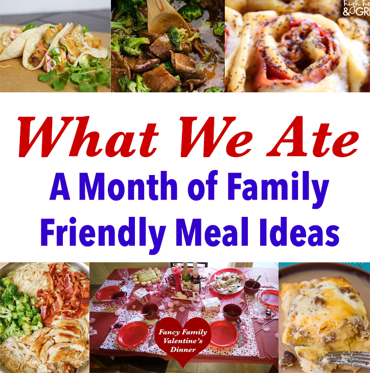 Emmy Mom One Day At A Time What We Ate In February Month Of