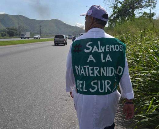 Médicos de Carabobo marchan hasta Caracas por crisis de la salud