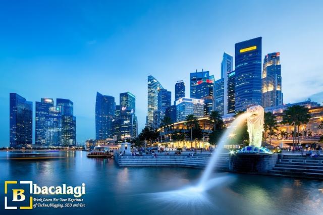 Merlion Park, Tempat Wisata di Singapura : tempatwisata.biz.id