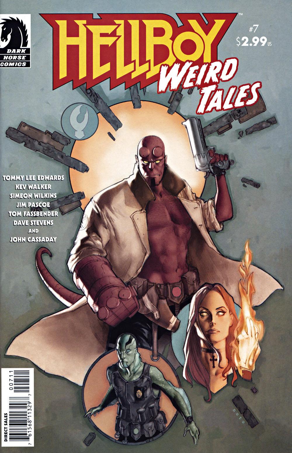 Read online Hellboy: Weird Tales comic -  Issue #7 - 1
