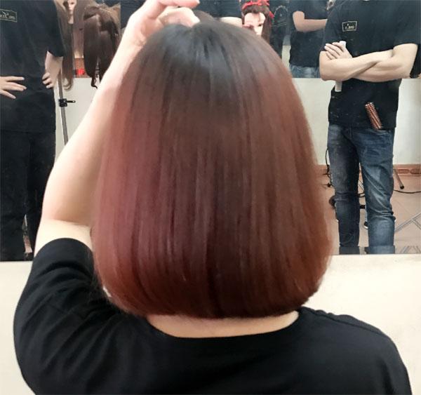 Phương pháp bóc đỏ và nhuộm màu nâu khói