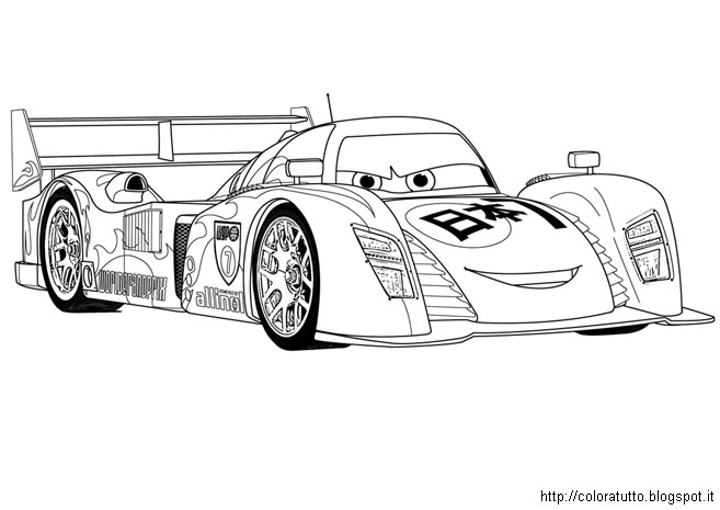 Free cars 2 rip coloring pages