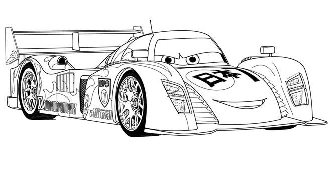 Cars 2 disegno da colorare n.11