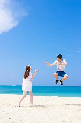 沖縄マタニティフォトウェディング