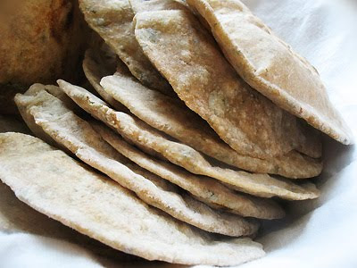 Indian chapatis