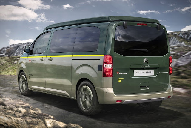 citroen spacetourer rip curl concept karavan teknolsun. Black Bedroom Furniture Sets. Home Design Ideas
