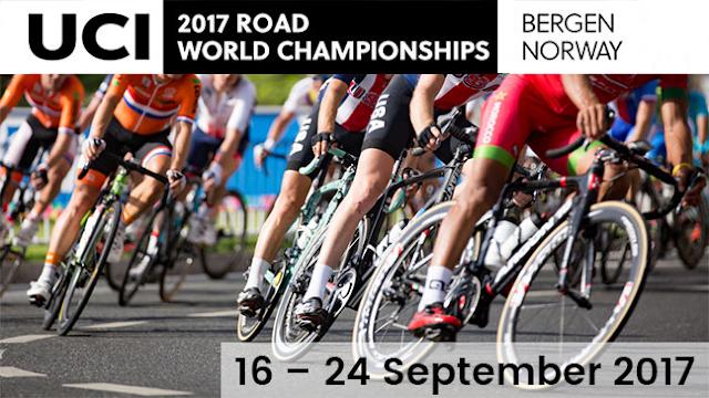 CICLISMO EN RUTA - Mundial 2017 (Bergen, Noruega)
