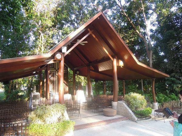 Open-air chapel at Shangri-La's Mactan Resort and Spa
