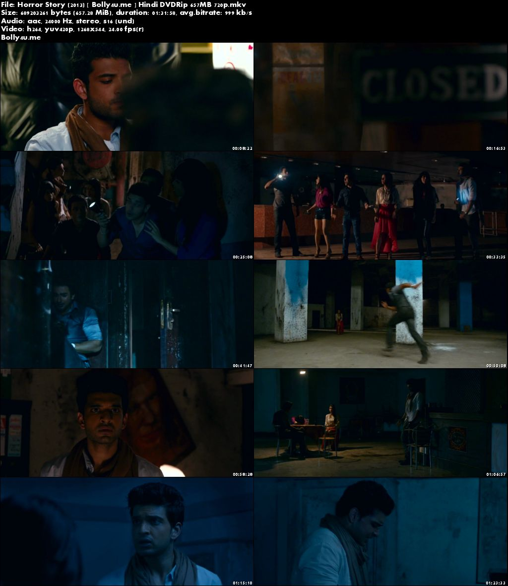 Horror Story 2013 DVDRip 650MB Full Hindi Movie Download 720p