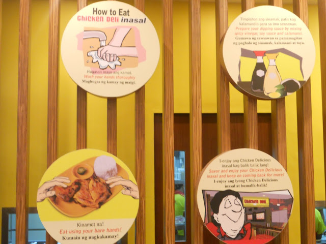 How to eat at Chicken Deli