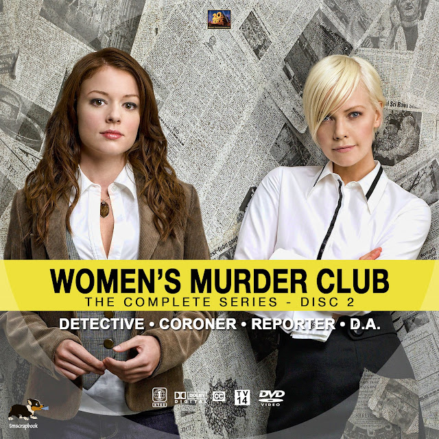 Women's Murder Club Disc 2 DVD Label