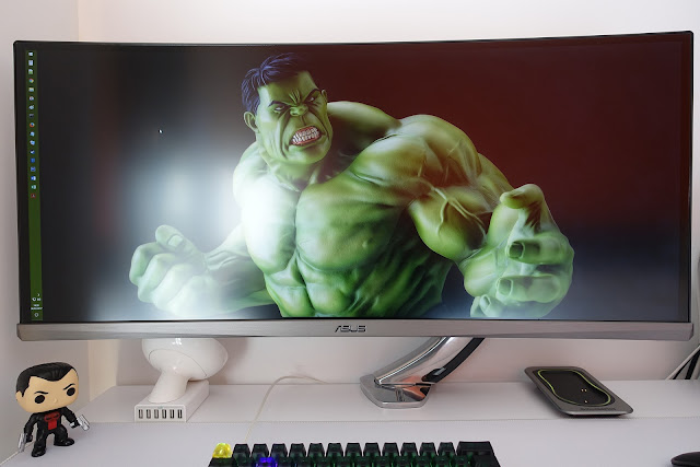 Monitor ultrawide PG348Q - ultrapanorámico curvo