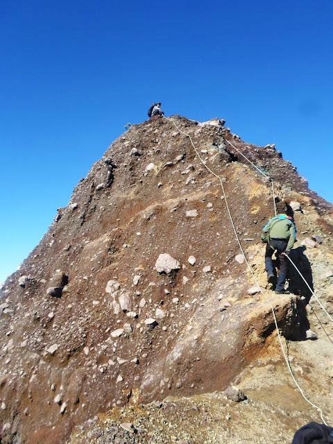 Pendakian Gunung Raung via Kalibaru
