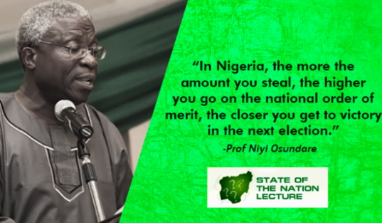 corruption nigerian economic recession