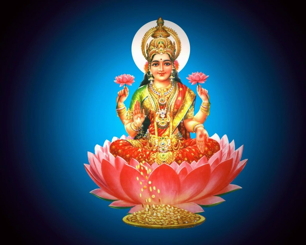 God Laxmi Devi HD Wallpaper