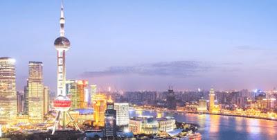 برج لؤلؤة الشرق في شنغهاي