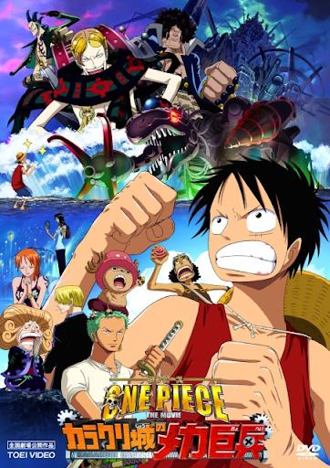 One Piece:The Giant Mechanical Soldier of Karakuri Castle