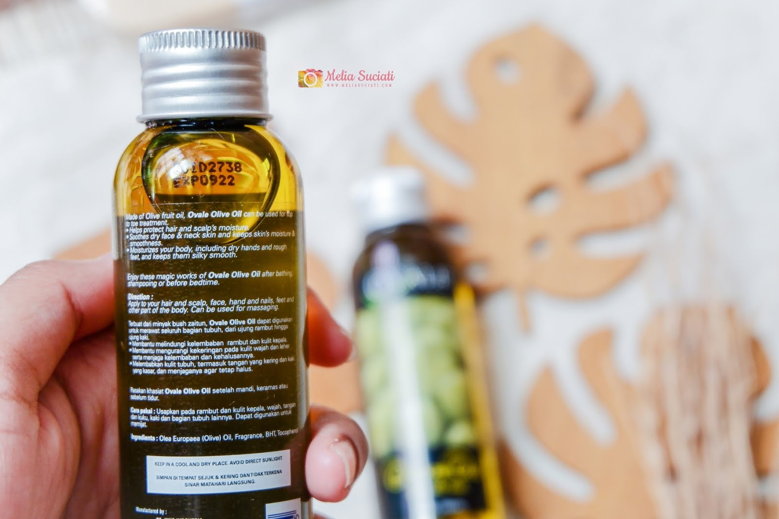 REVIEW OVALE OLIVE OIL
