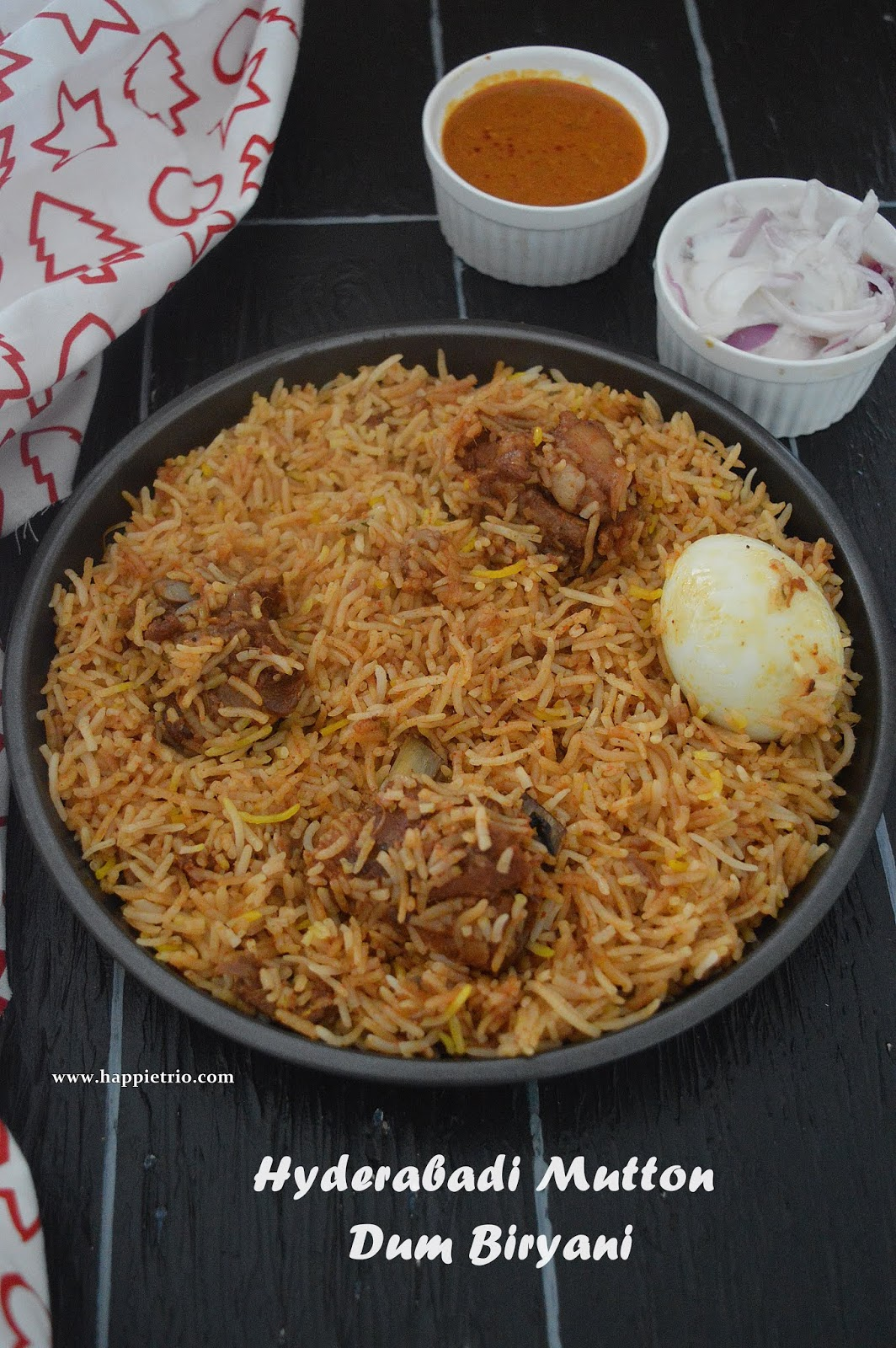 Hyderabadi Mutton Dum Biryani Recipe | How to cook Hyderabadi Stype Mutton Dum Biryani