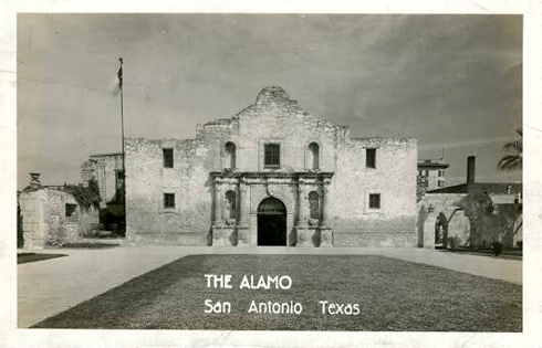 Alamo Mission Archival San Antonio Texas