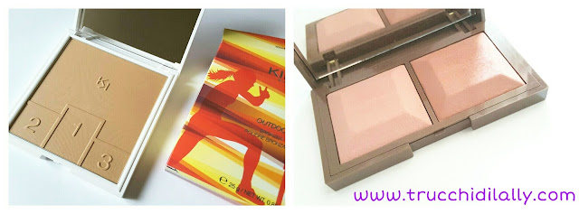 Out bronzer Kiko Technical Honey e Cocoa Rose and mauve 02