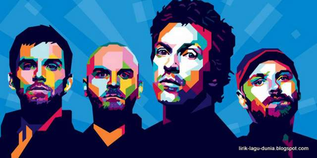 Coldplay WPAP - Pop-art Wallpaper