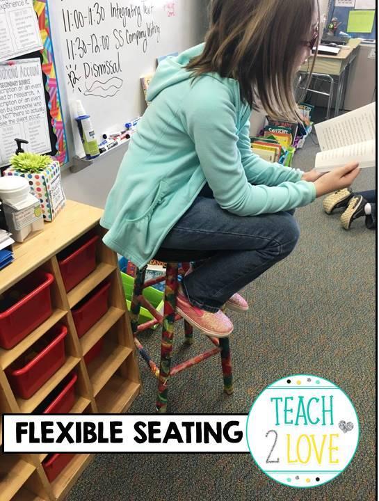 Flexible Seating Teaching To Love