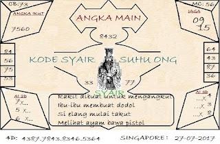 syair sgp, BOCORAN TOGEL SINGAPORE KAMIS