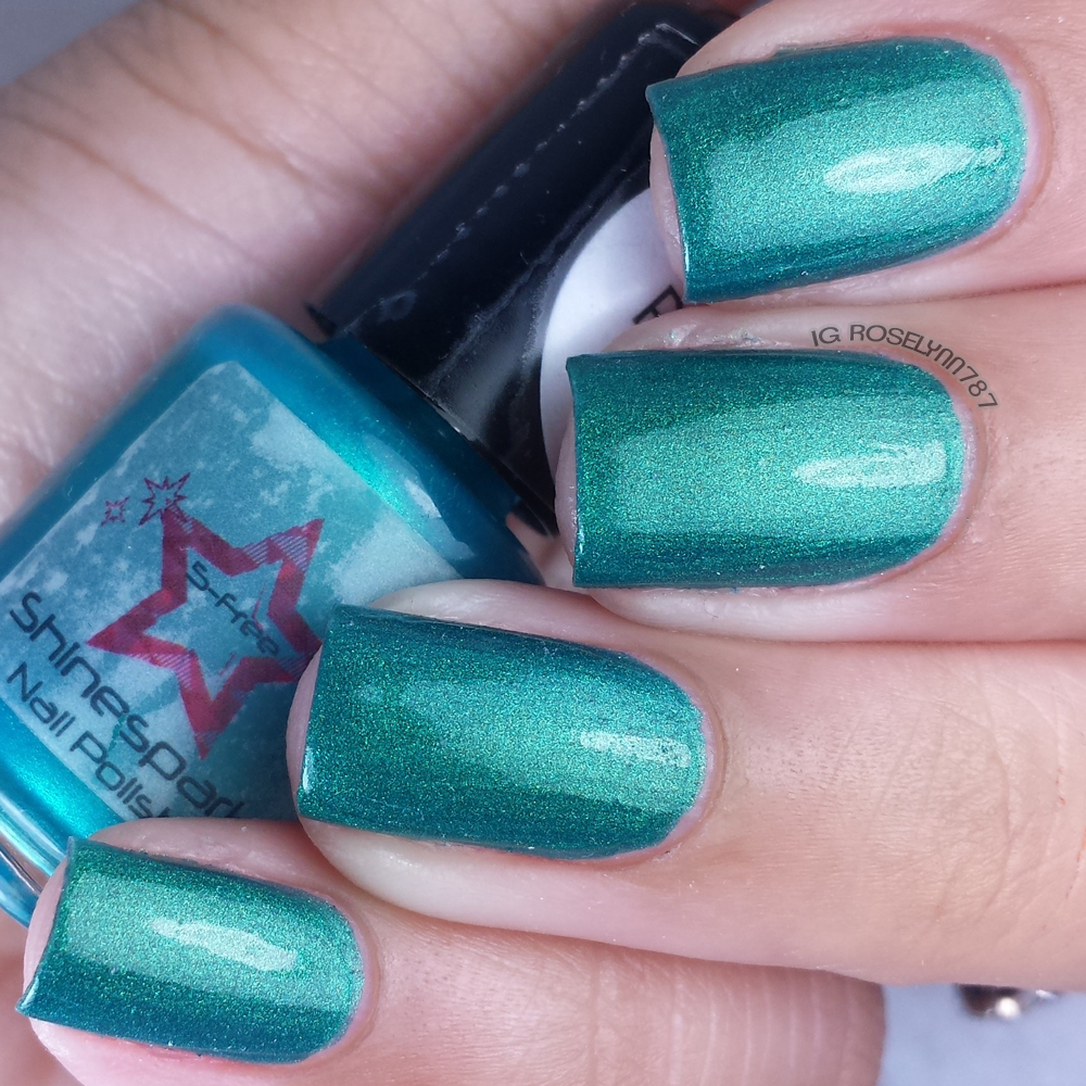 Shine Spark Polish - Peacock