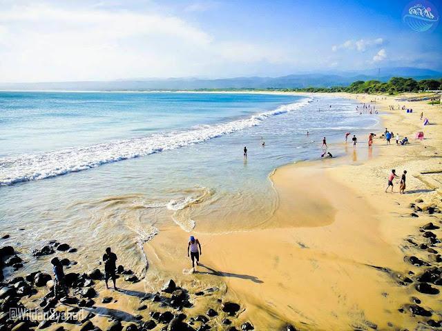 Ini pantai santolo yang indah di garut selatan