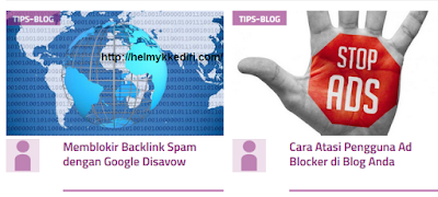 Cara Mengirim Artikel Blog keViva Log4