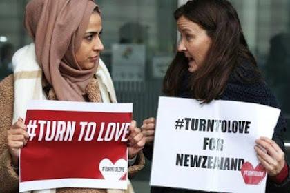Simpati Terhadap Muslim Korban Terorisme, Jumat Umat Kristen Kenakan Jilbab Di New Zealand