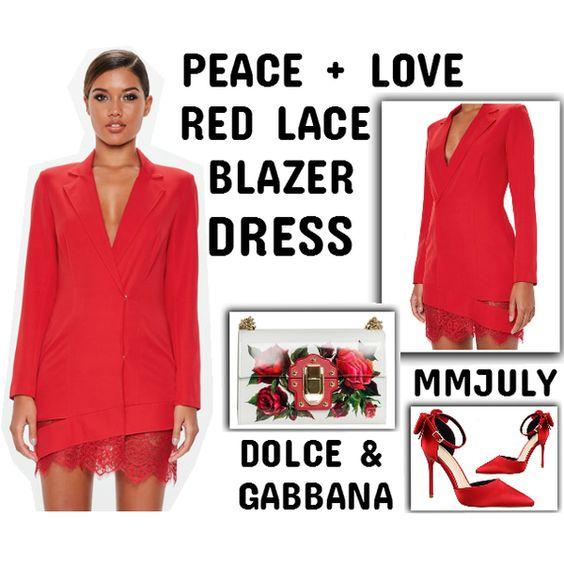 Rock Red Like A Boss www.toyastales.blogspot.com #ToyasTales #reddress #lacedress #peace #love #womensfashion #dresses