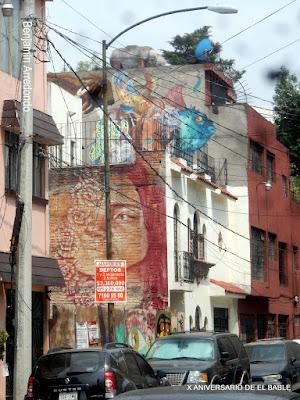 Arte Urbano por las calles de México, del tipo