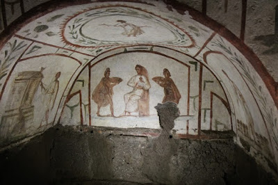 Catacombs of Marcellinus and Peter restored
