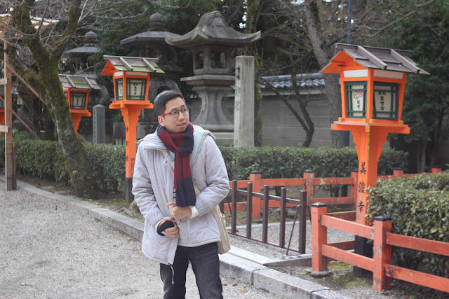 Renz Cheng in Kyoto, Japan 2016