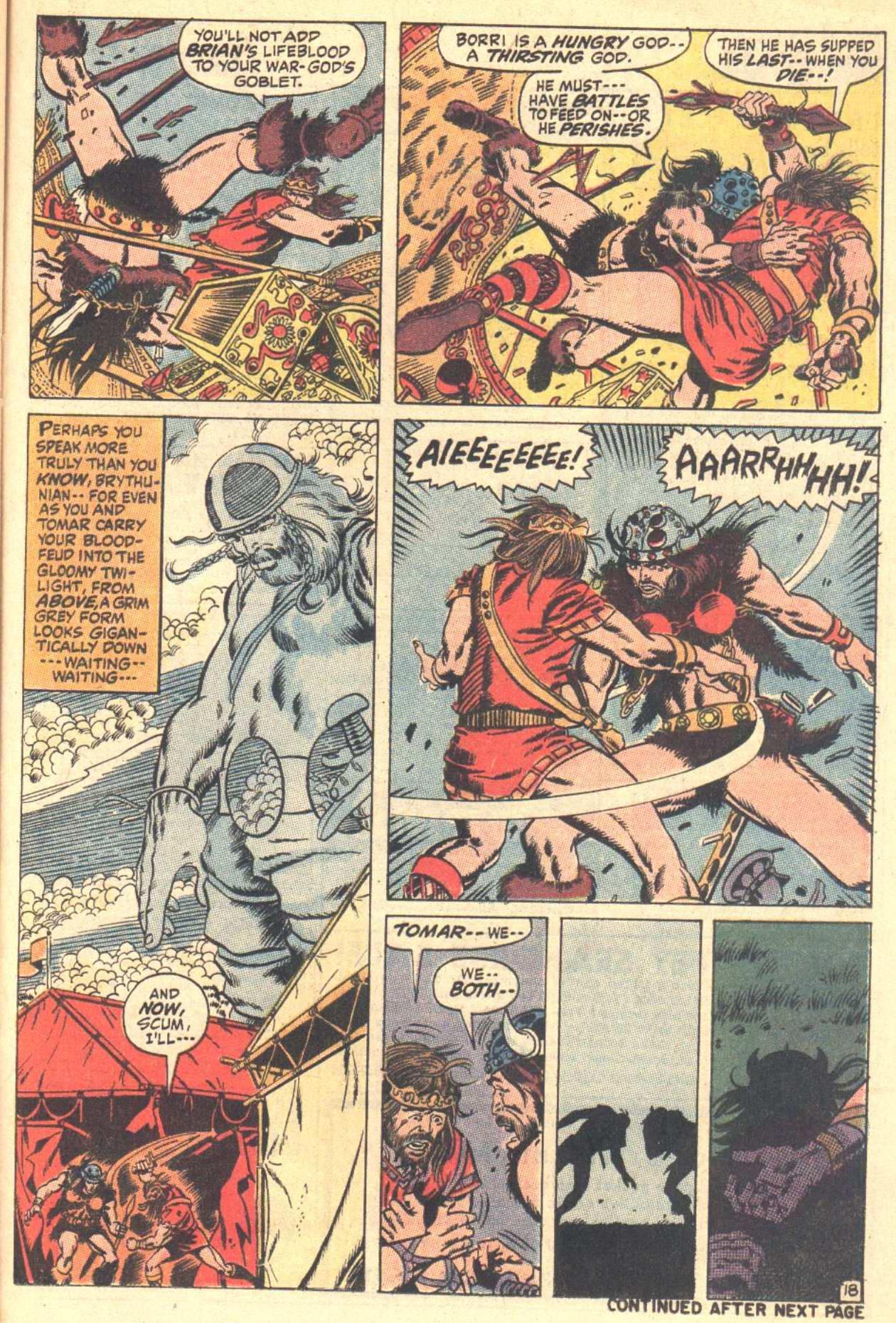 Conan the Barbarian (1970) Issue #3 #15 - English 19