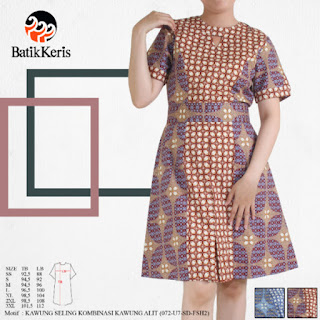model sackdress batik terbaru