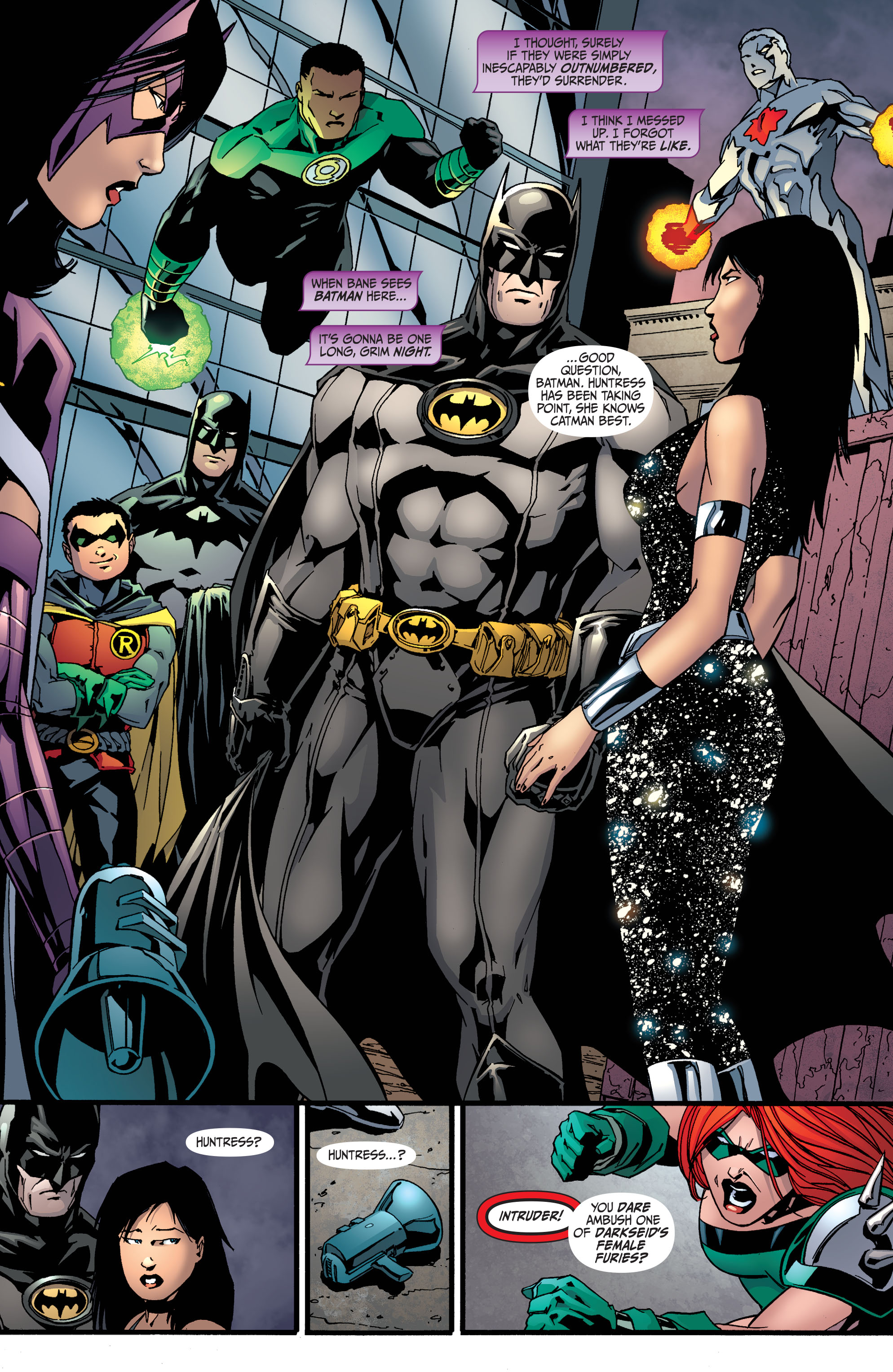 Read online Secret Six (2008) comic -  Issue #36 - 12