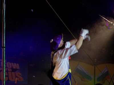 Clown at Moscow State Circus