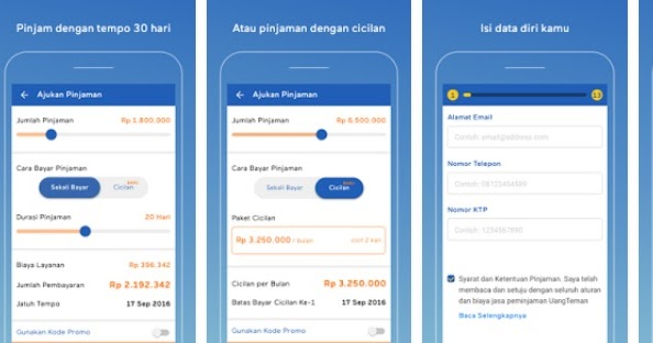 UangTeman, Aplikasi Pinjaman Dana Tunai Online Pertama Di ...